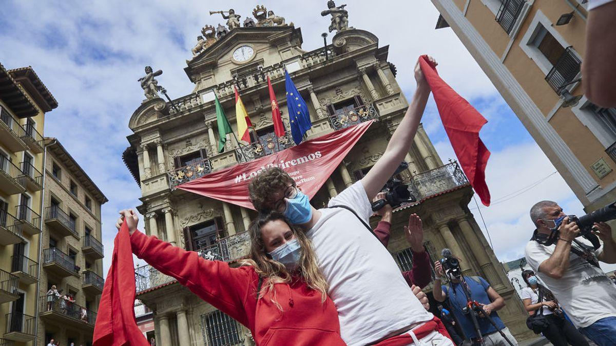 La presidenta de Navarra no cree que se puedan celebrar los Sanfermines tampoco este año