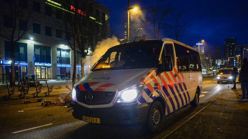 La cuarta noche de disturbios en Países Bajos acaba con más de 30 detenidos