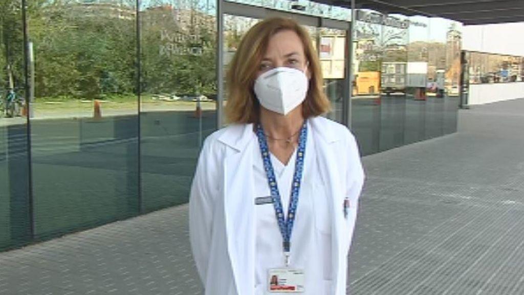 """Carmen Morata, médico del Hospital de la Fe de Valencia: """"Es una lástima que muera gente que con la epidemia más controlada, no hubiera muerto"""""""