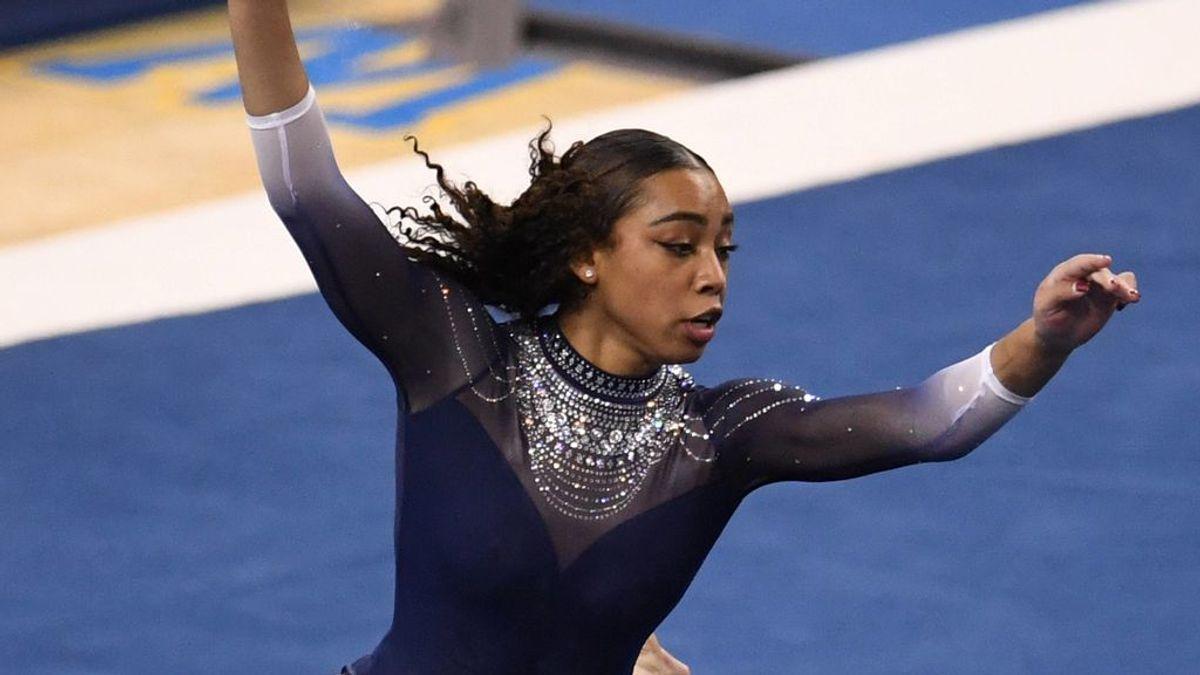 Nia Dennis, la nueva Simone Biles, roza la perfección con su nuevo ejercicio de gimnasia a ritmo de hip hop