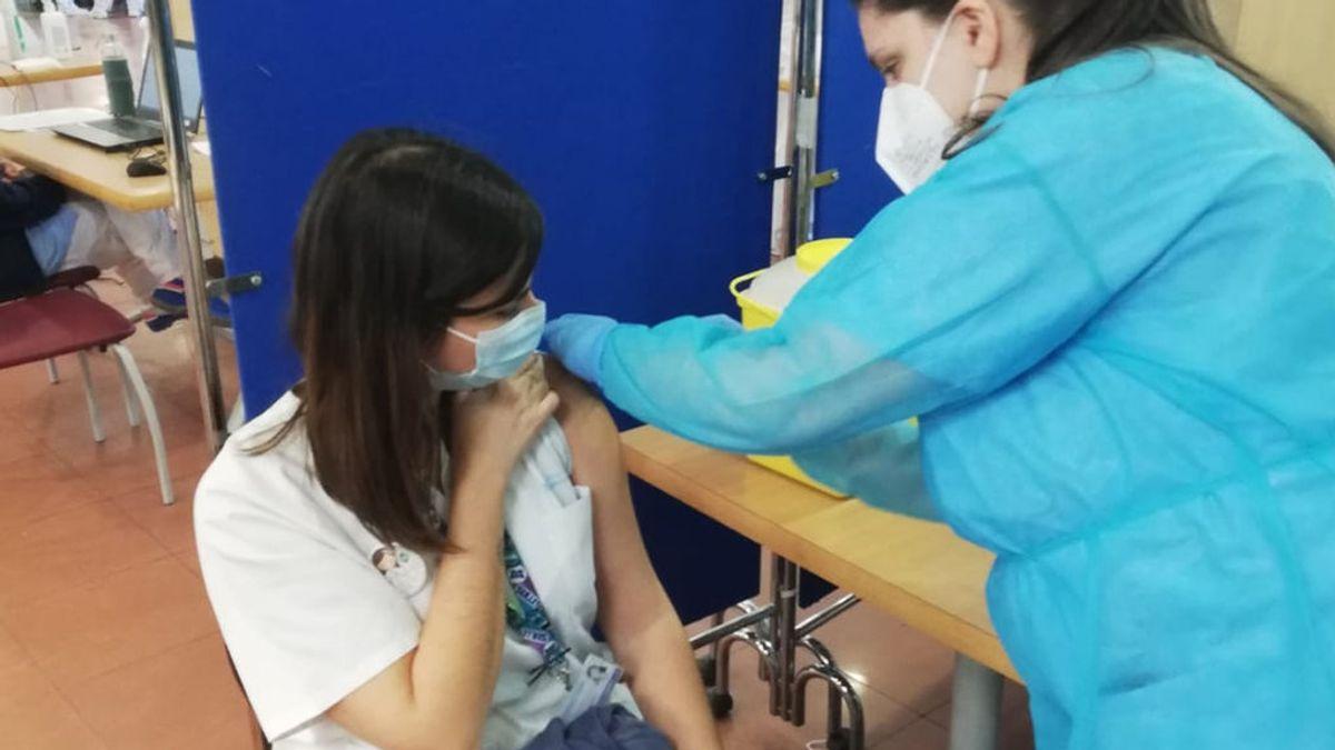 Sanitarios vacunados