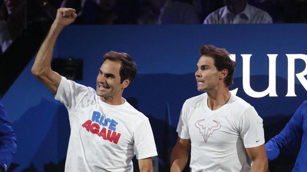 """La lección de Rafa Nadal de cómo lleva su rivalidad con Roger Federer: """"Nos empujamos mutuamente para ser mejores"""""""