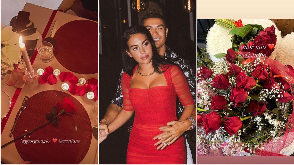 """Cristiano se pone de lo más romántico en el cumpleaños de Georgina: """"Felicidades al amor de mi vida"""""""