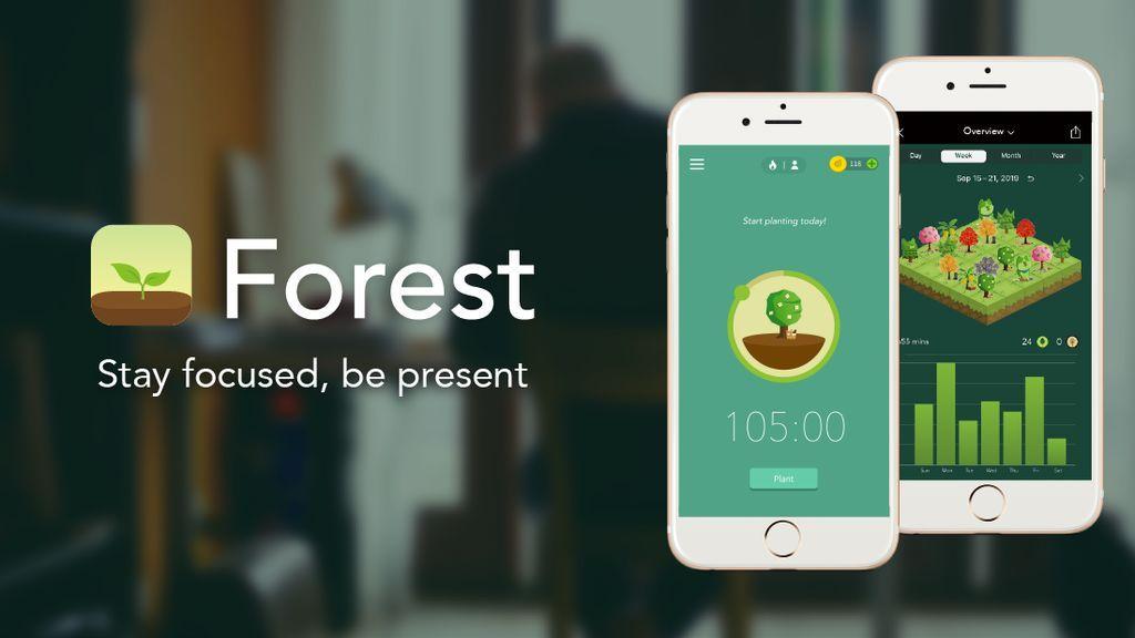 Forest, la aplicación que te ayuda a cuidar los bosques del planeta desconectando del móvil