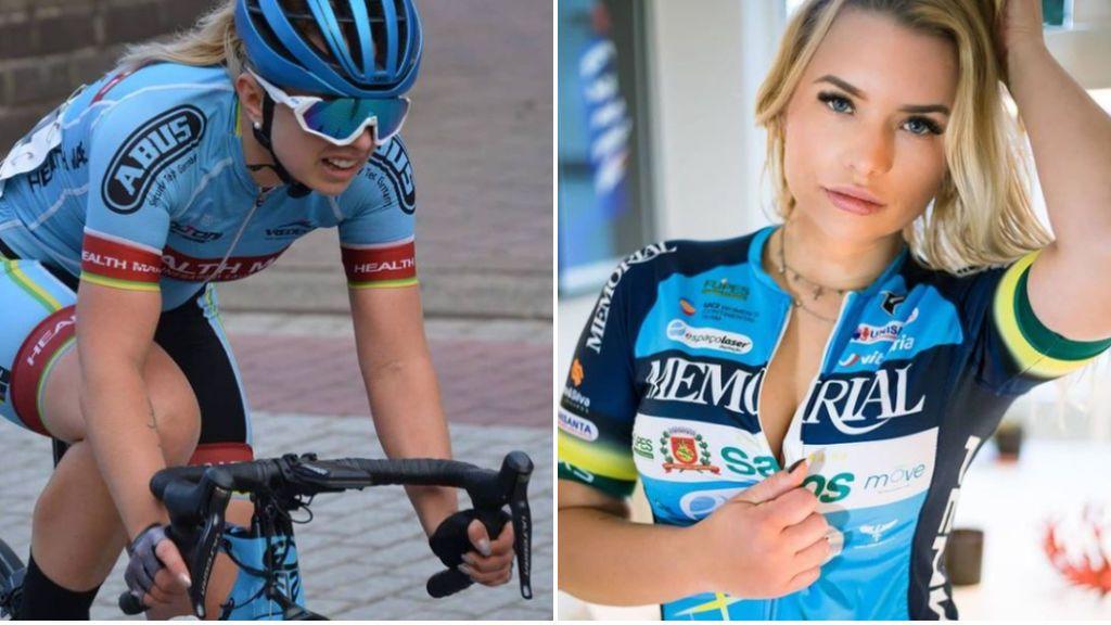 """La denuncia de la ciclista Tara Gins: """"Me cancelaron un contrato con un equipo masculino por hacer unas fotos en topless"""""""
