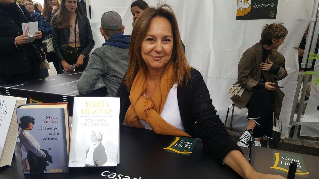 María Dueñas publicará el 14 de abril 'Sira', continuación de la novela 'El tiempo entre costuras'