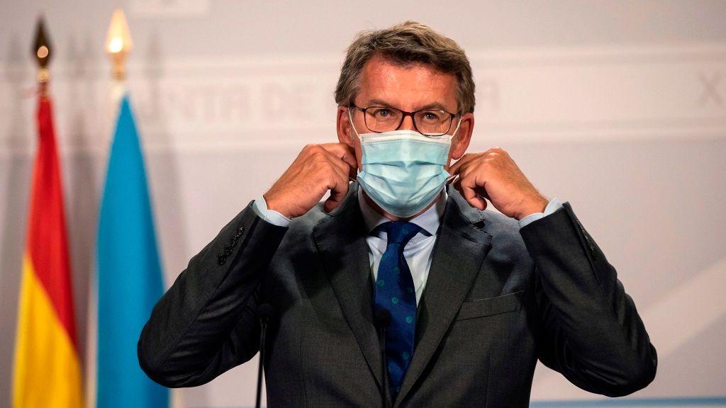 Feijóo pedirá a Pedro Sánchez el uso obligatorio de las mascarillas FPP2