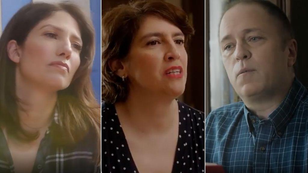 Lynda, tía de Brendan, y Leslie Ann Lopez y Rob Scholl, padres de Brendon
