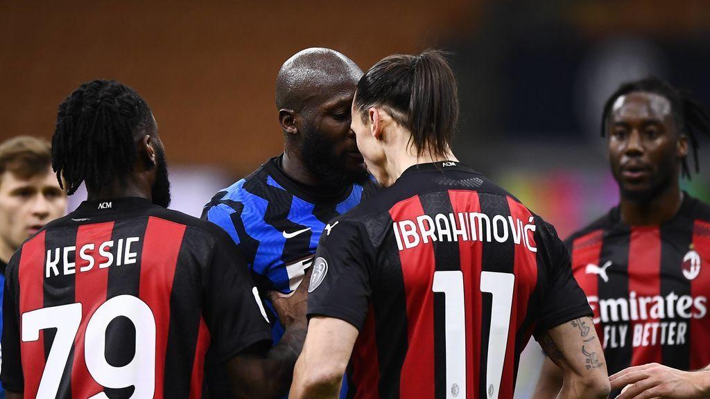 Así fue el choque de cabezas entre Ibrahimovic y Lukaku: insultos a la familia, vudú y una persecución hasta la ducha