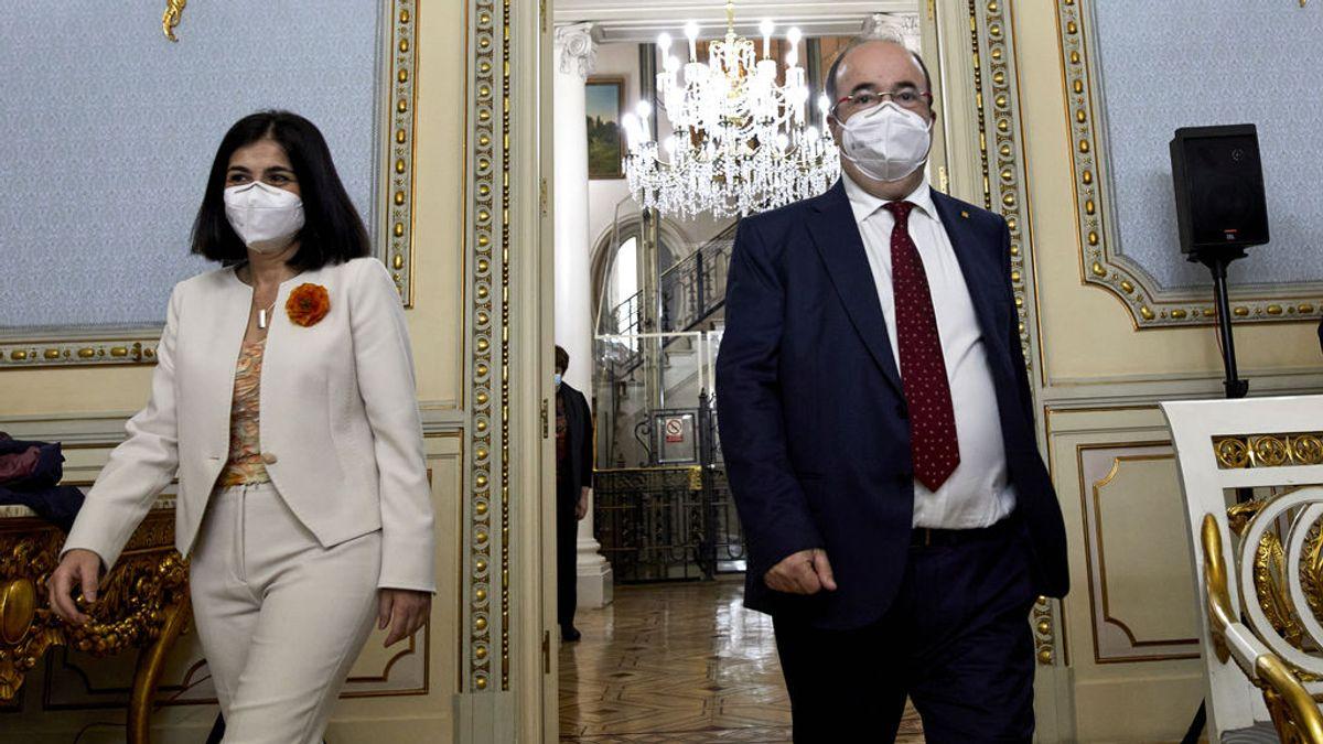 En directo: Darias e Iceta abordan la pandemia con las comunidades autónomas