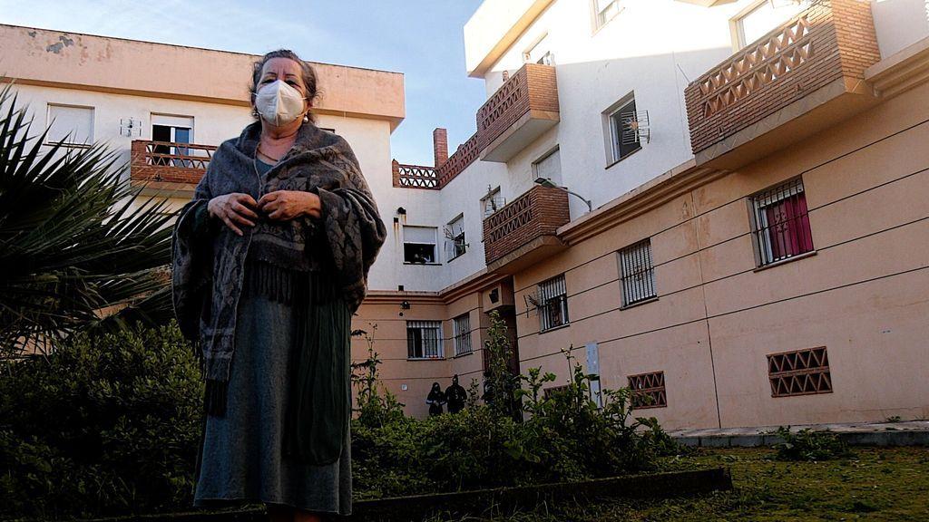 María, sin casa a los 73 años