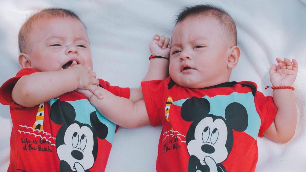 Mellizos de dos padres diferentes: es la 'fecundación heteropaternal' y, aunque rara, es posible