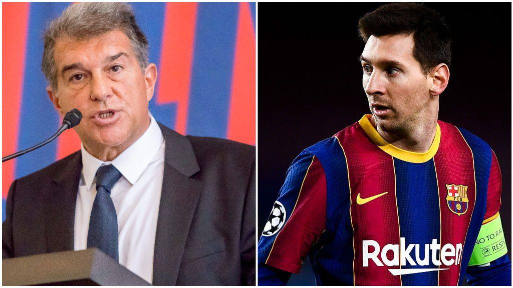 Laporta no sabe qué hará Leo Messi con su futuro.