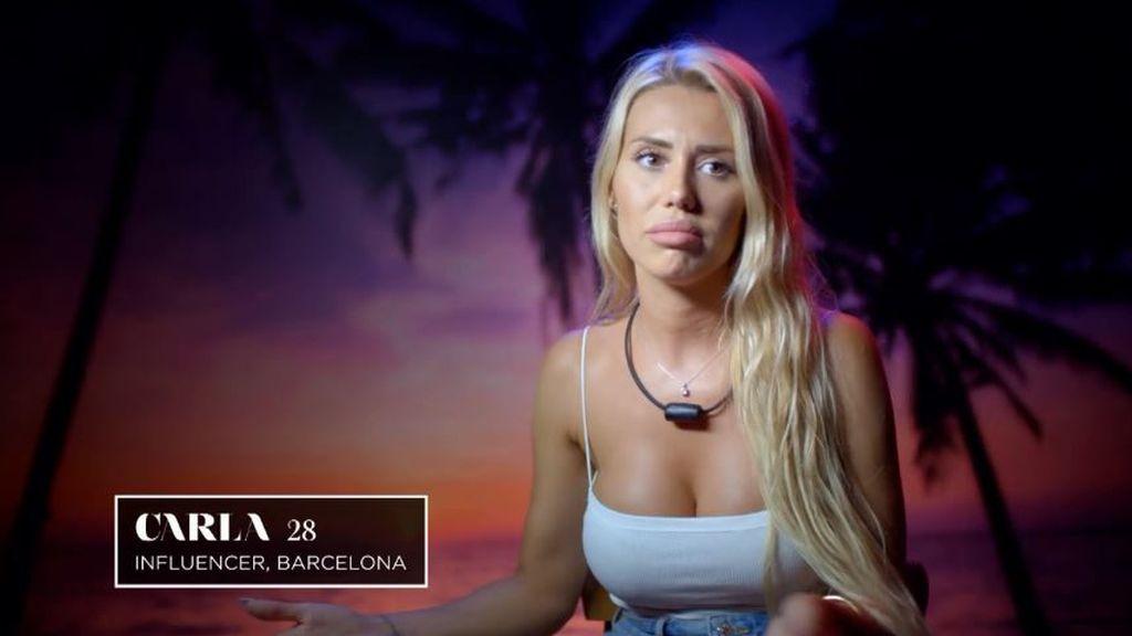 Carla, single de 'La isla de las tentaciones 3'