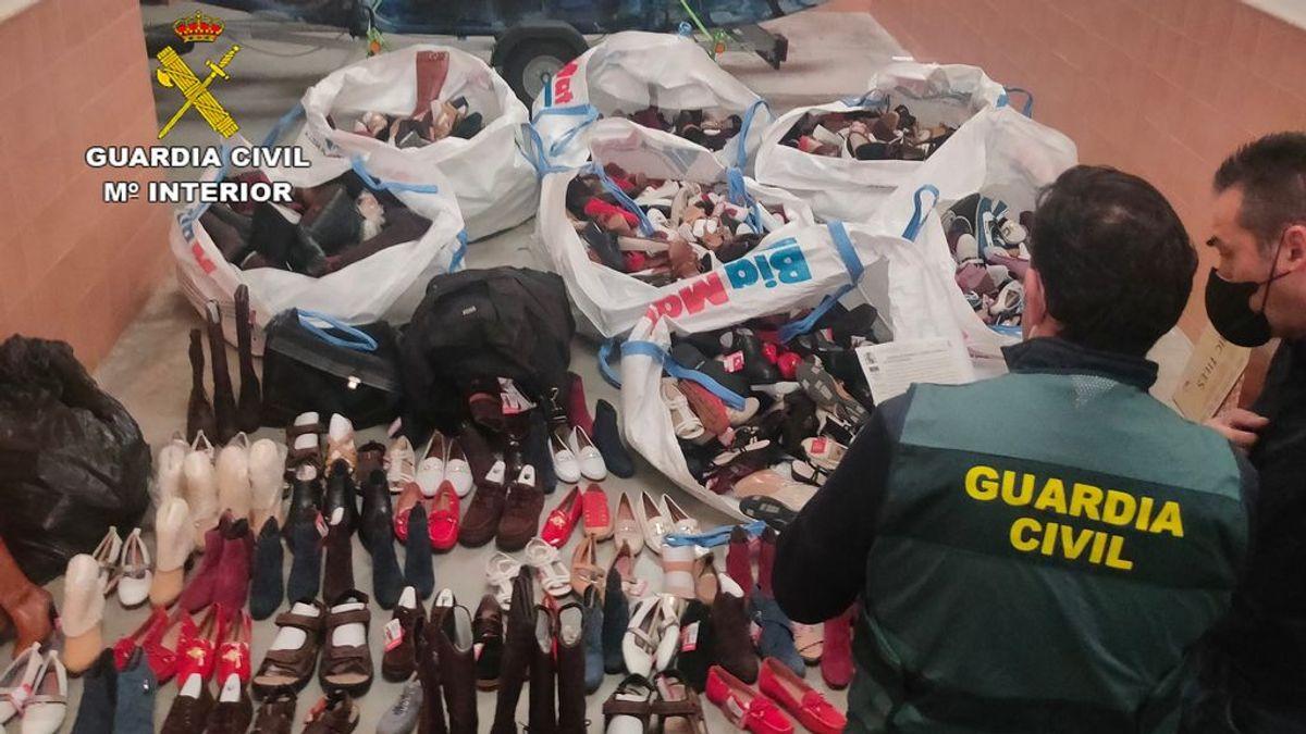 Detenido por robar 2.500 pares de zapatos de una empresa de calzado de Castellón