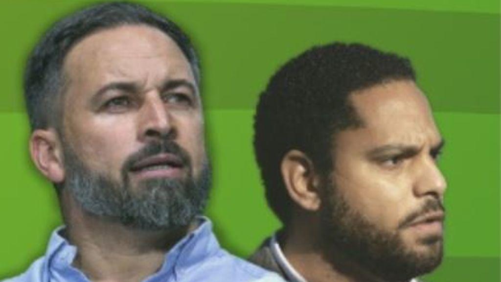 Cartel electoral de Vox para el 14F