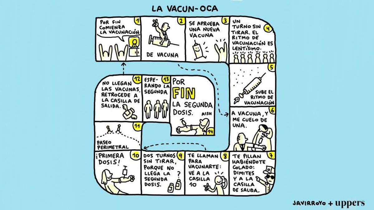 """La viñeta de Javirroyo: """"La VacunOca"""""""