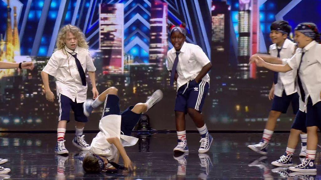 Puppts Circle Crew son niños de menos de diez años que dominan el baile callejero