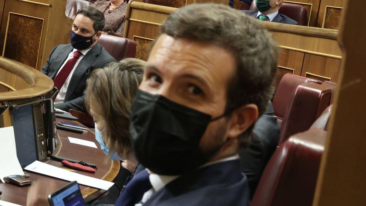 Casado Abascal miden fuerzas en Cataluña y se juegan el liderazgo de la derecha en las elecciones de Cataluña