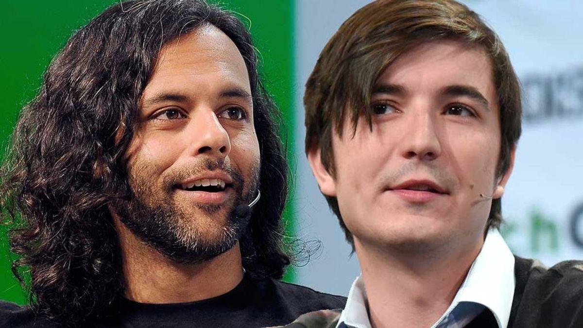 Baiju Bhatt y Vladimir Tenev, fundadores de Robinhood
