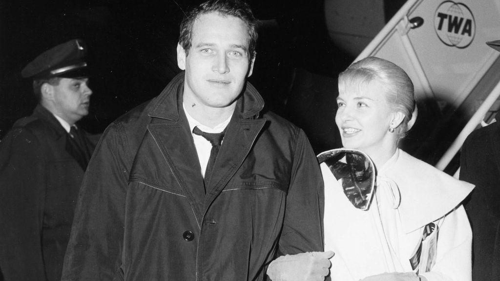 Paul Newman con su mujer Joanne Woodward