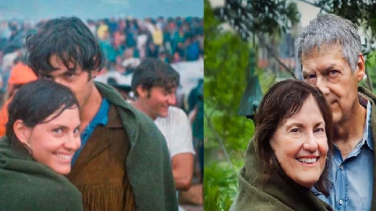 Judy y Jerry, el matrimonio que se conoció en Woodstock y rememoró su foto más histórica