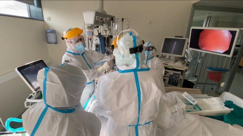 Empeoran los datos en Galicia: 1.331 personas hospitalizadas y récord de casos activos
