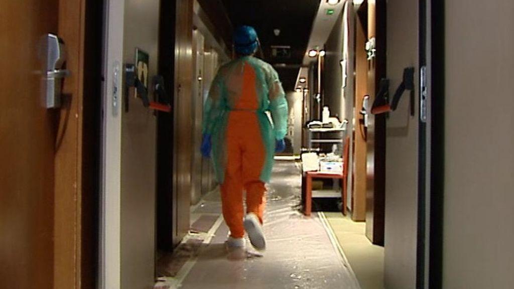 El hotel medicalizado de Madrid, por dentro