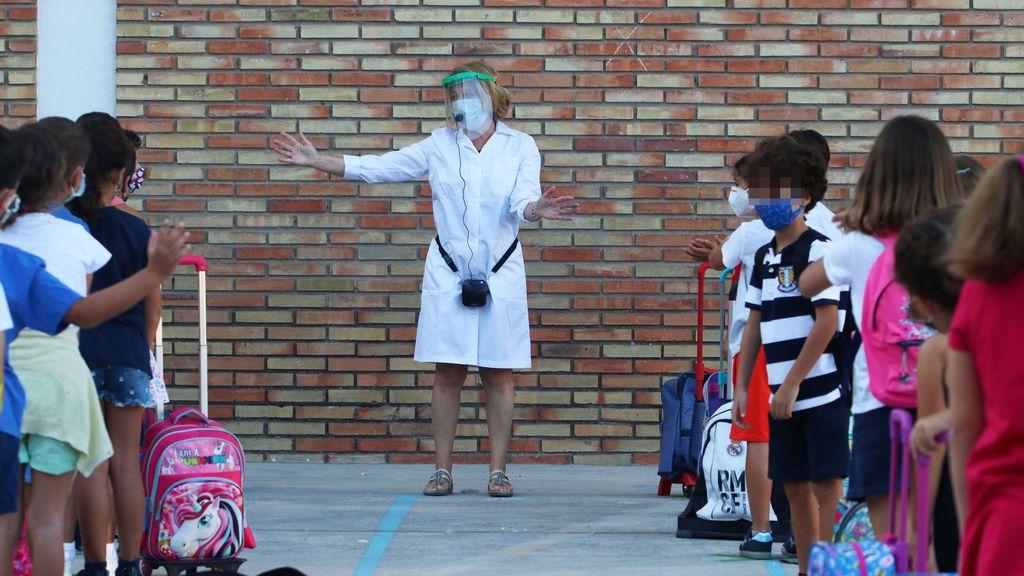 El coronavirus entra en la aulas, crece un 53% la incidencia acumulada entre los menores de 15 años