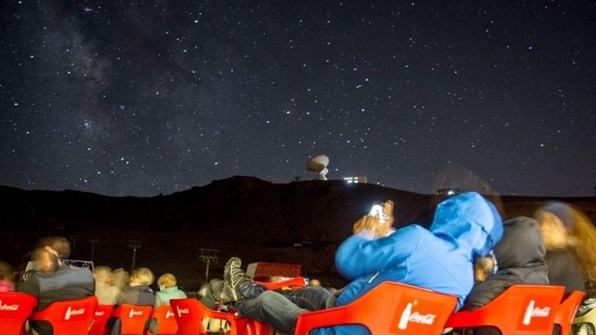 Una bola de fuego de un asteroide cruza el cielo de Granada a 83.000 km/hora