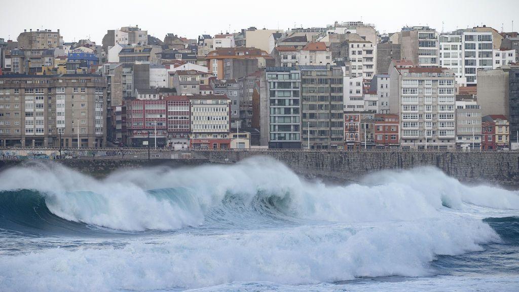 Oleaje en Galicia