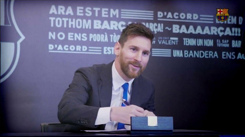 Cláusula a cláusula: así es el contrato millonario de Messi
