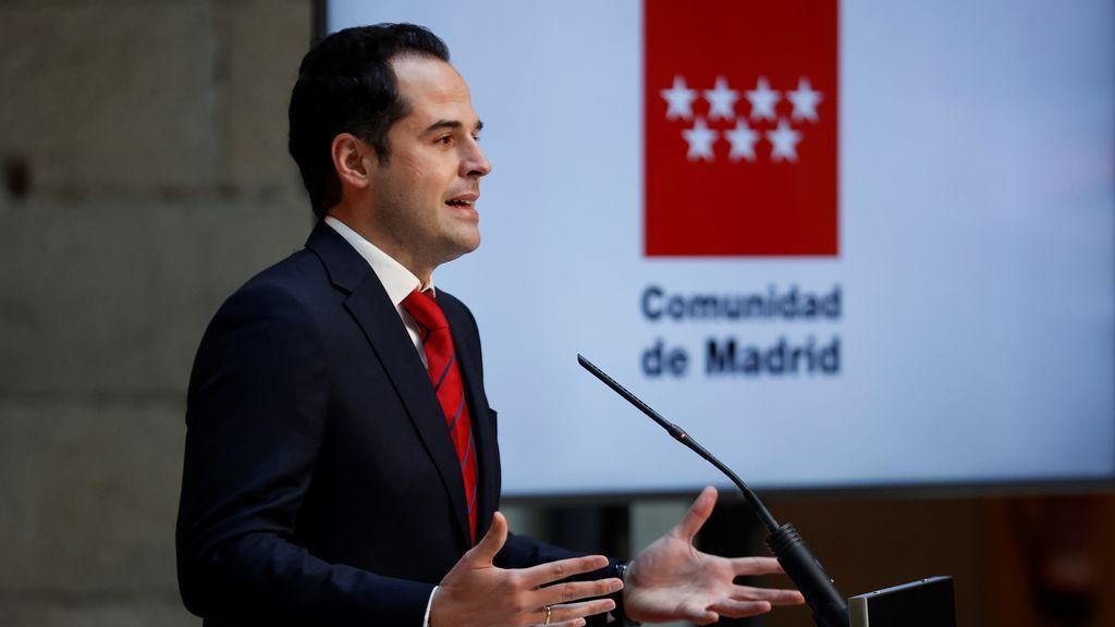El vicepresidente, Ignacio Aguado