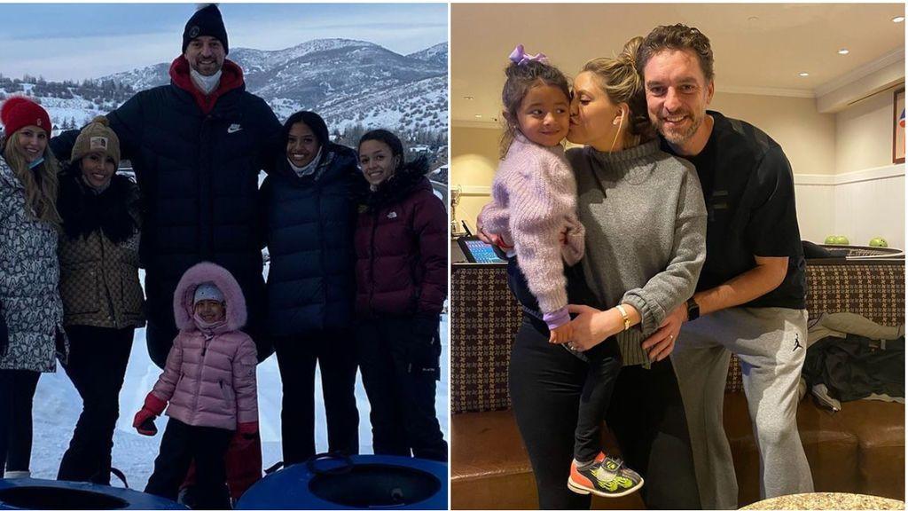 """Pau Gasol y la familia de Kobe Bryant, más unidos que nunca: """"Te queremos hermana"""""""
