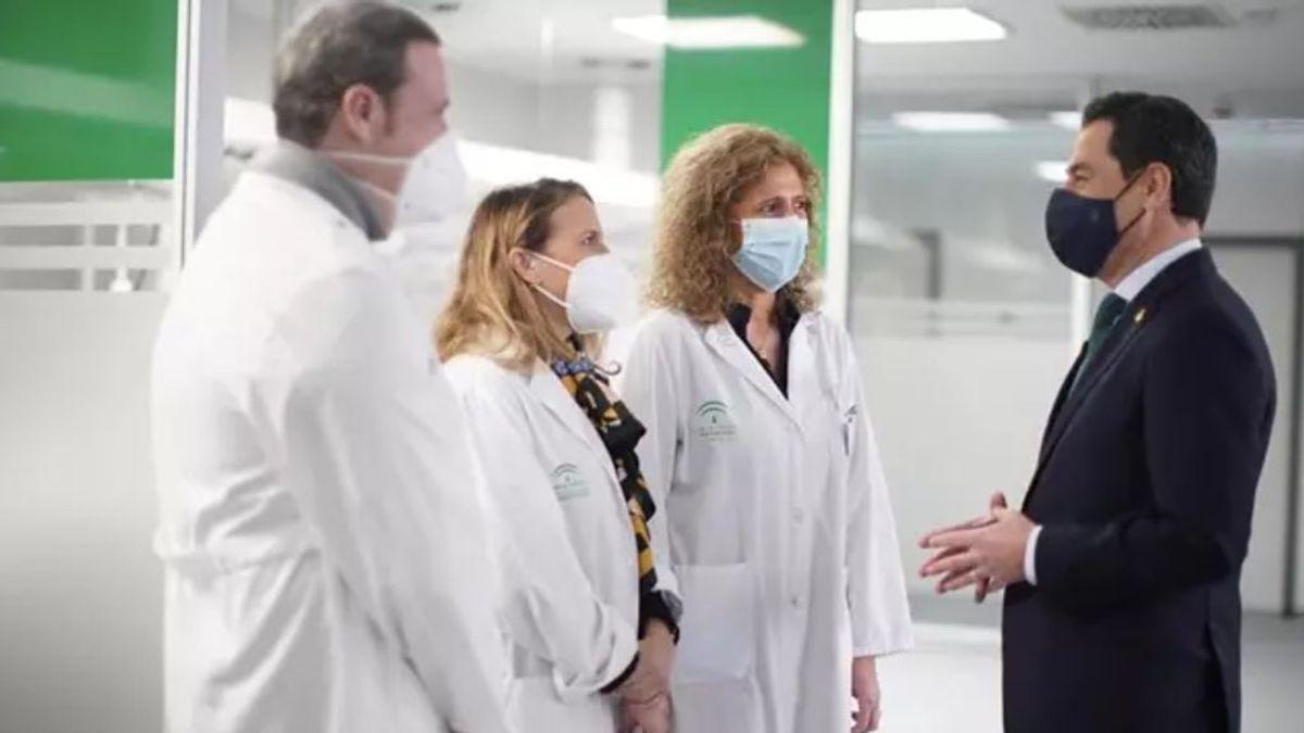La Junta inaugura el Zendal andaluz, su hospital de Emergencias, con capacidad para 144 pacientes covid