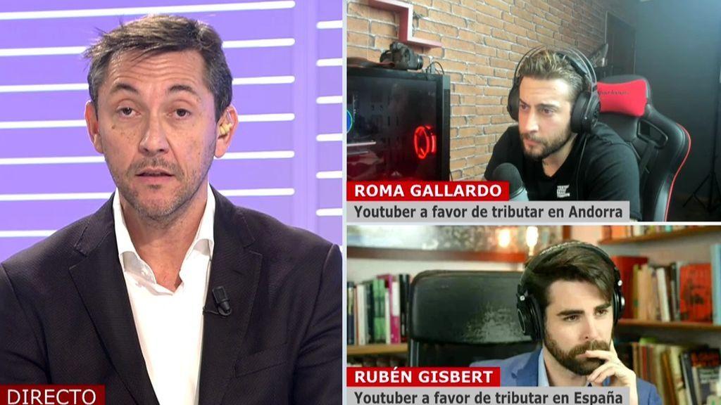 Cara a cara de Roma y Javier Ruiz