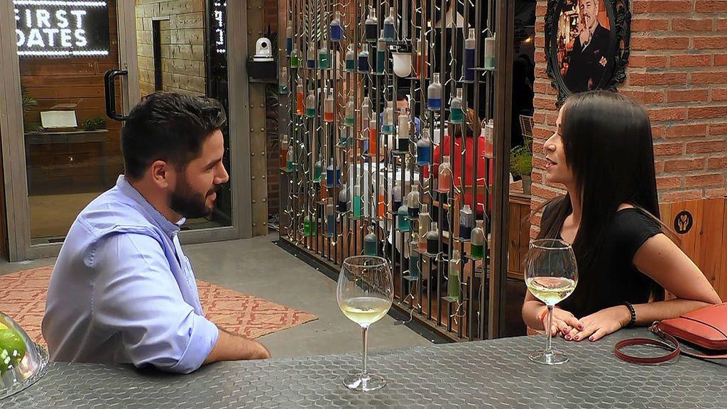 Arantxa consigue en 'First Dates' el reto que le habían puesto sus amigas