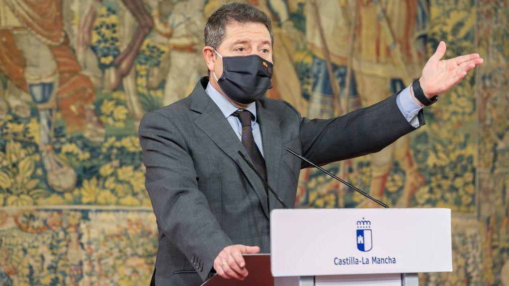 Emiliano García- Page, presidente de la Comunidad de Castila-La Mancha