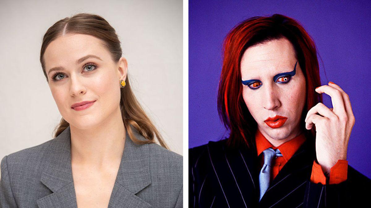 La actriz Evan Rachel Wood acusa a Marilyn Manson de abusos sexuales