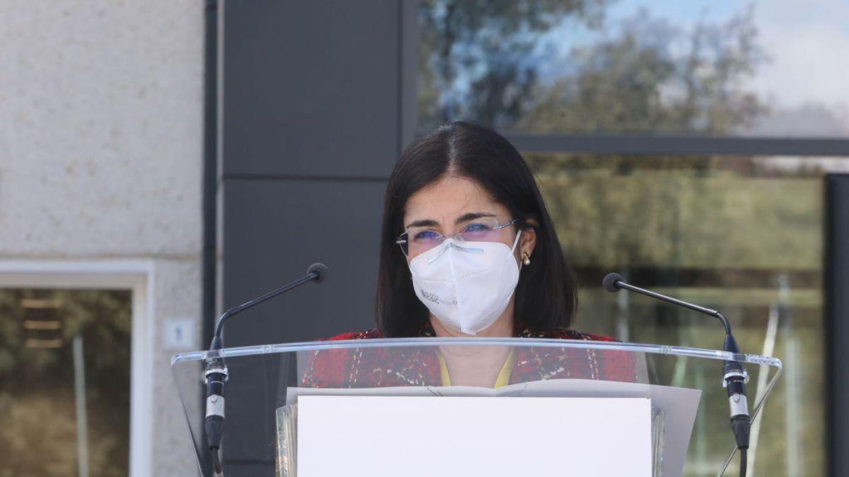 """La ministra de Sanidad pide a las comunidades autónomas que amplíen las medidas """"todo lo posible"""""""