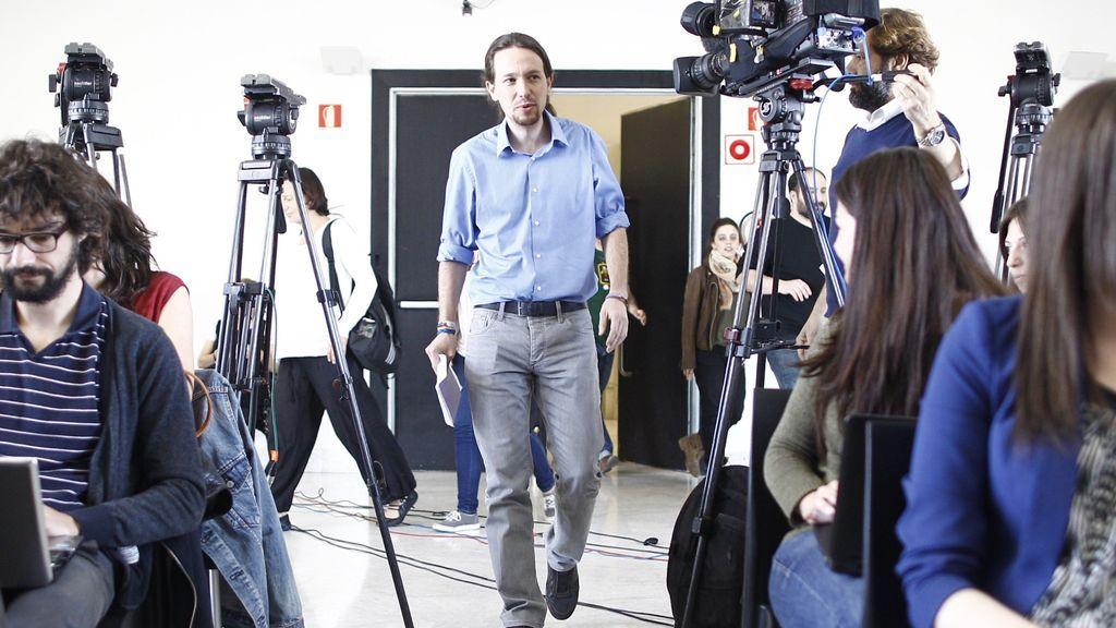 """Iglesias y su relación de amor-odio con los medios: """"Son los brazos mediáticos del poder"""""""