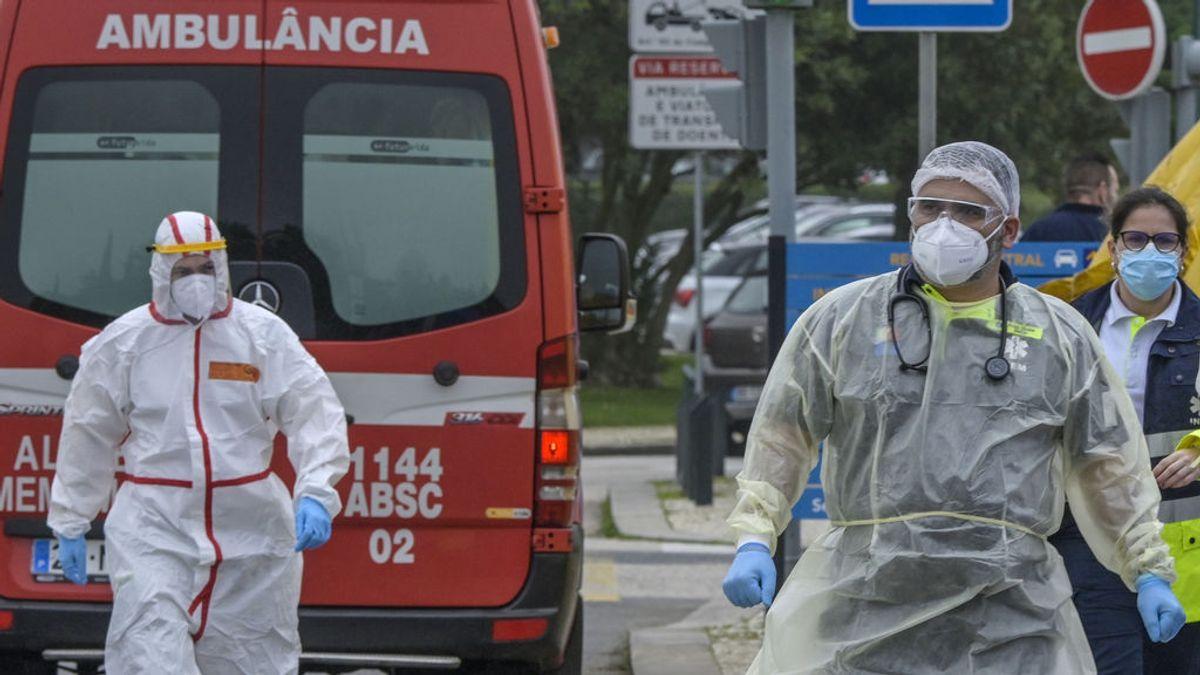 Portugal: cierre de fronteras, colas y desazón ante la letalidad del coronavirus