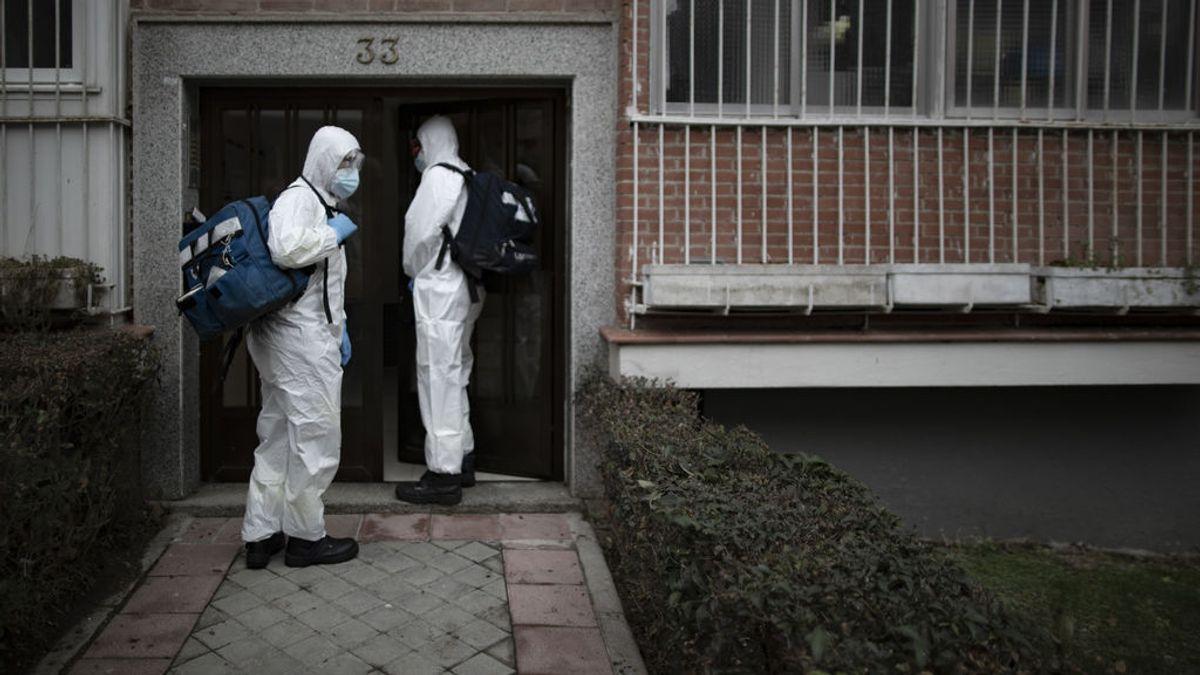 Madrid estabiliza los casos con 1.259 y suma 61 muertos por coronavirus