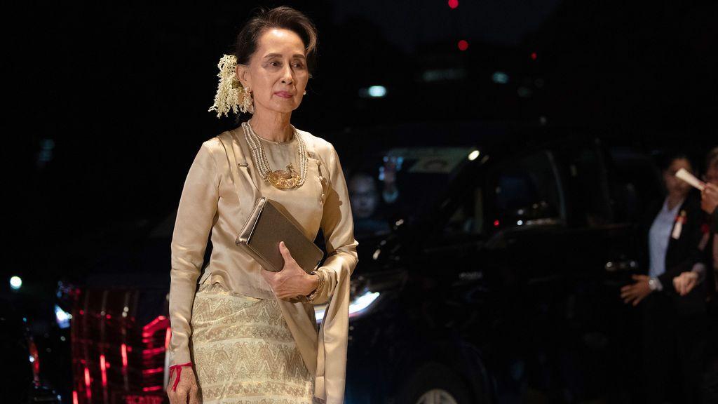 Aung San Suu Kyi, la Premio Nobel de la Paz que acabó enfrentándose a un juicio por genocidio