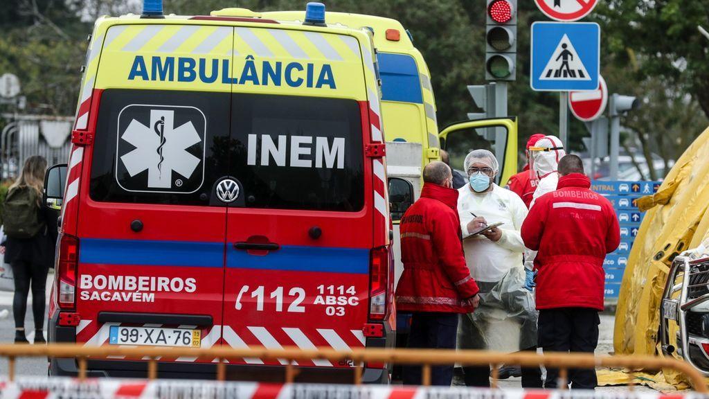 Hospitales y funerarias, al límite en Portugal