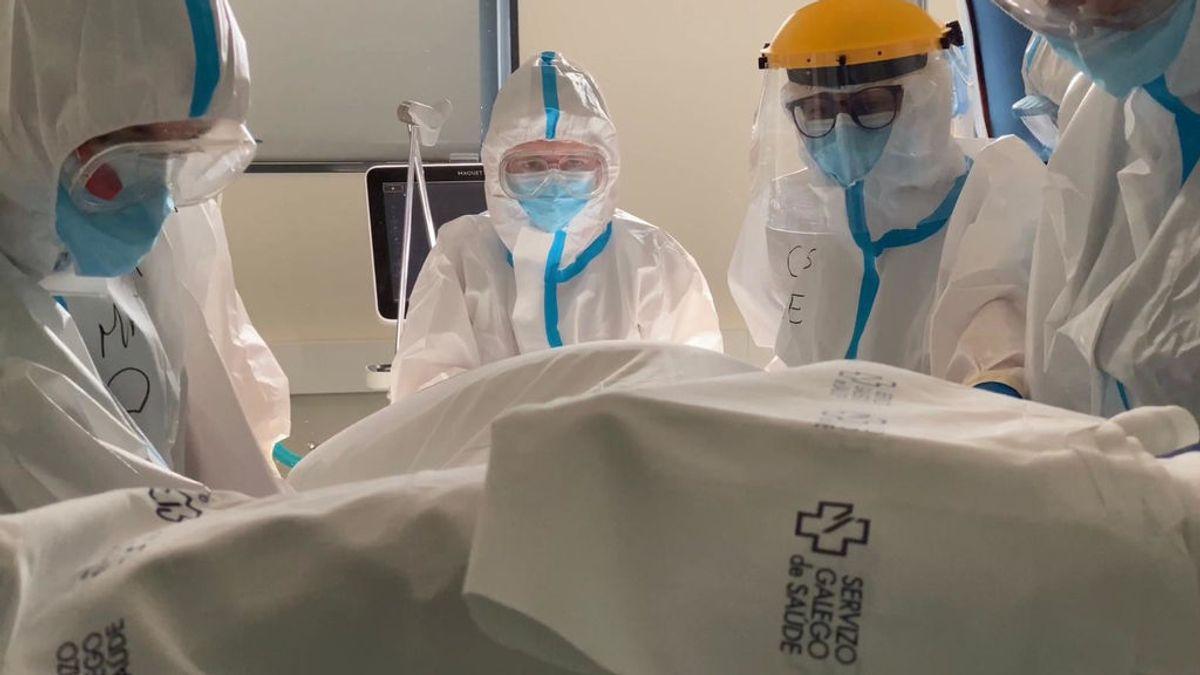 Galicia multiplica por cuatro las hospitalizaciones en un mes y notifica 40 fallecidos, cifra récord de la pandemia