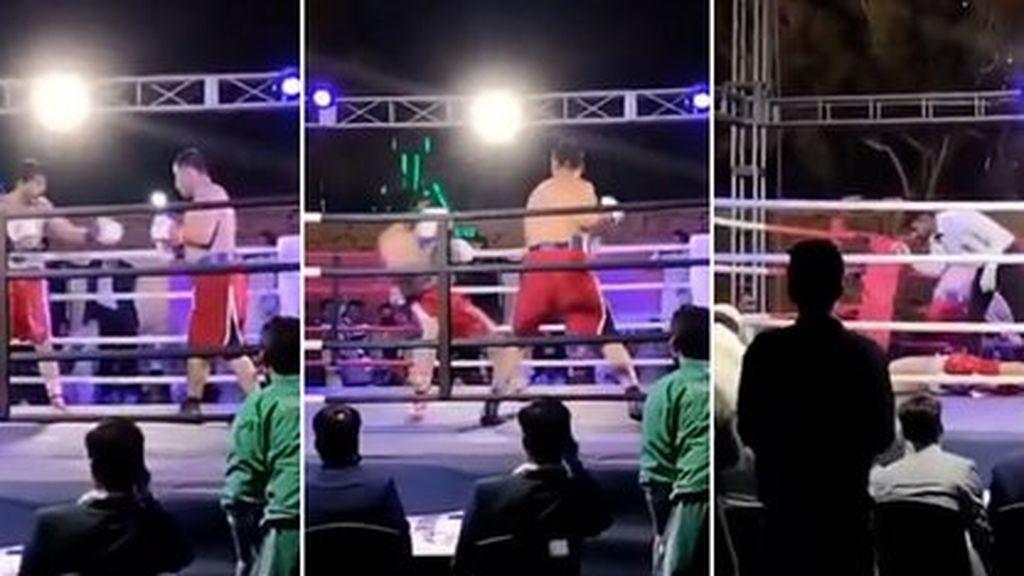 Muere un boxeador tras ser noqueado en un combate benéfico