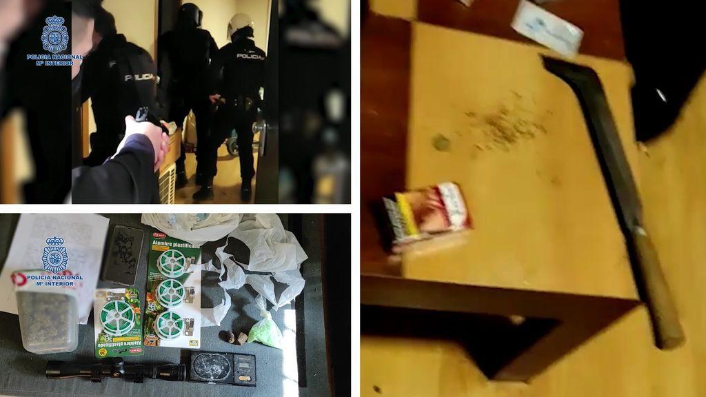 Detenido un individuo por herir de un disparo al padre de una joven a la que acosaba en Murcia