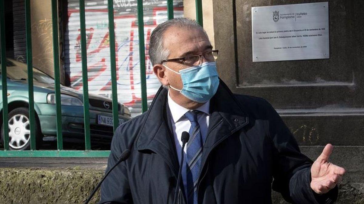 El alcalde de Pamplona, Enrique Maya.