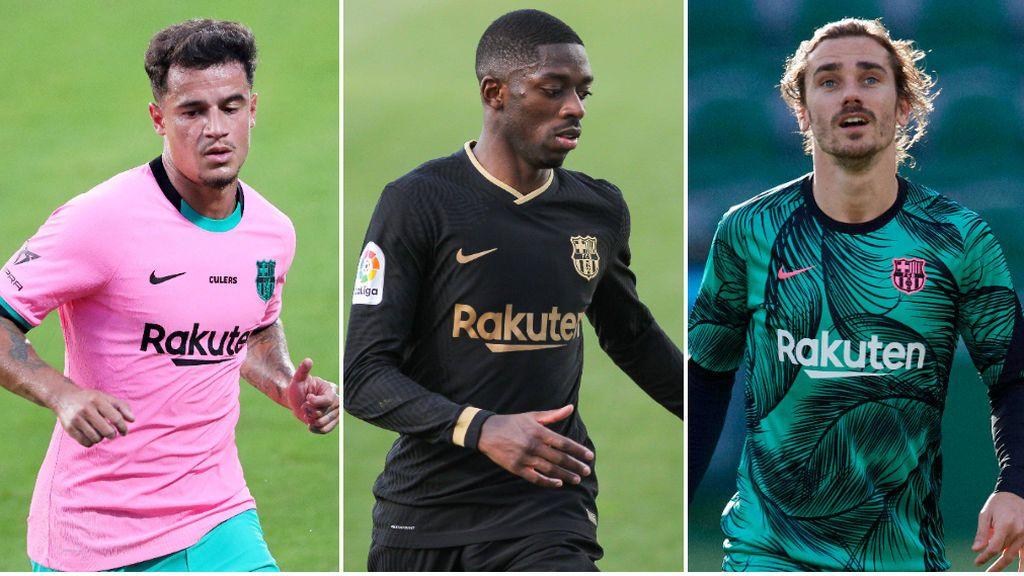 La otra causa de la crisis del Barça: Griezmann, Coutinho y Dembelé le cuestan casi 800 millones al club